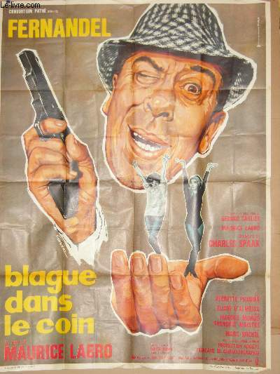 AFFICHE DE CINEMA - BLAGUE DANS UN COIN
