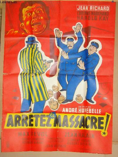 AFFICHE DE CINEMA - ARRETEZ LE MASSACRE!
