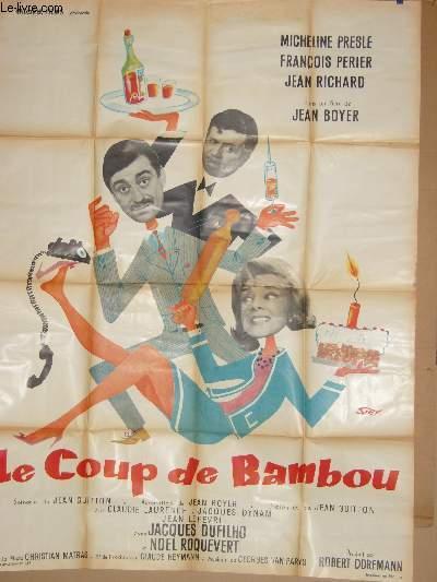 AFFICHE DE CINEMA - LE COUP DE BAMBOU