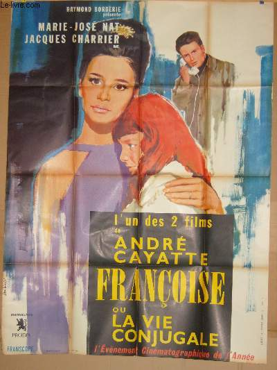 AFFICHE DE CINEMA - FRANCOISE OU  LA VIE CONJUGALE