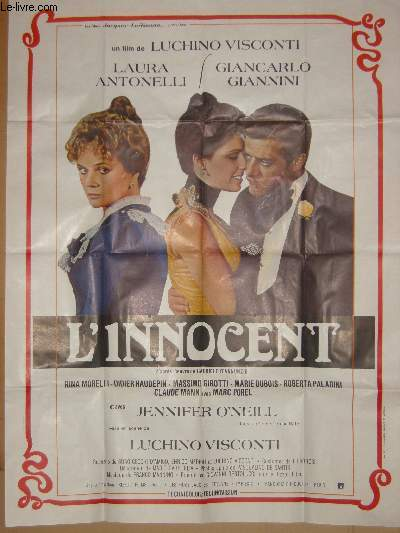 AFFICHE DE CINEMA - L'INNOCENT