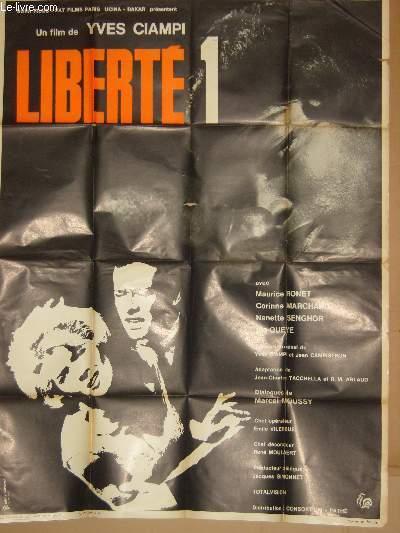 AFFICHE DE CINEMA - LIBERTE 1