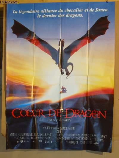 AFFICHE DE CINEMA - COEUR DE DRAGON - DRAGONHEART
