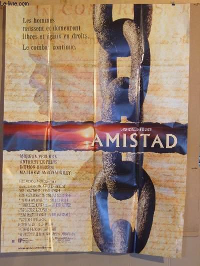 AFFICHE DE CINEMA - AMISTAD