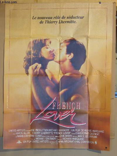 AFFICHE DE CINEMA - FRENCH LOVER