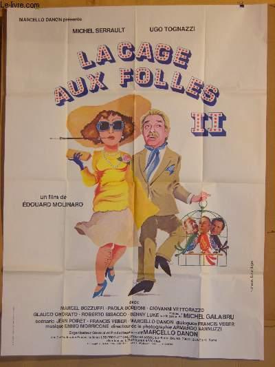 AFFICHE DE CINEMA - LA CAGE AUX FOLLES 2