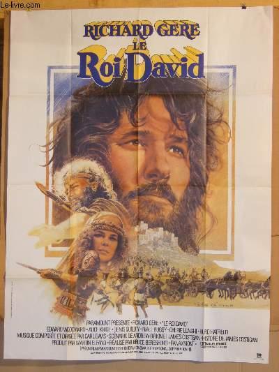 AFFICHE DE CINEMA - LE ROI DAVID