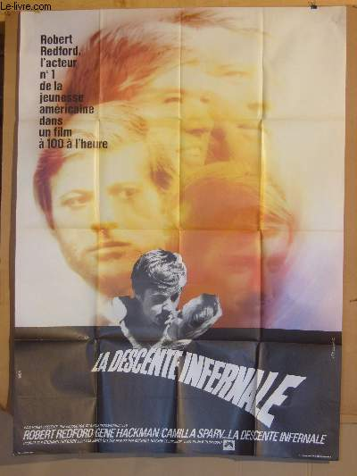 AFFICHE DE CINEMA - LA DESCENTE INFERNALE