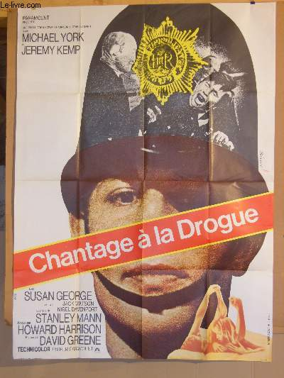 AFFICHE DE CINEMA - CHANTAGE A LA DROGUE
