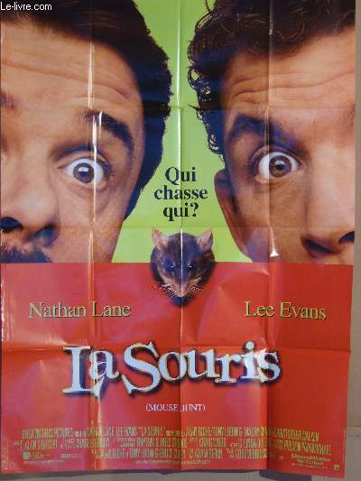 AFFICHE DE CINEMA - LA SOURIS - MOUSE HUNT