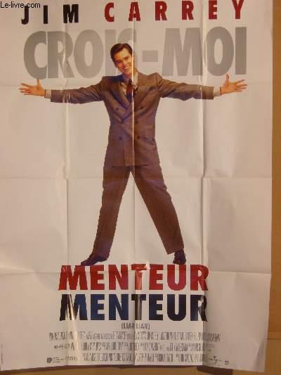 AFFICHE DE CINEMA - CROIS-MOI MENTEUR MENTEUR - LIAR LIAR