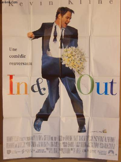 AFFICHE DE CINEMA - IN & OUT