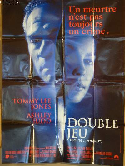 AFFICHE DE CINEMA - DOUBLE JEU - DOUBLE JEOPARDY
