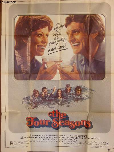 AFFICHE DE CINEMA - THE FOUR SEASONS