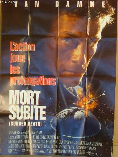 AFFICHE DE CINEMA - MORT SUBITE - SUDDEN DEATH