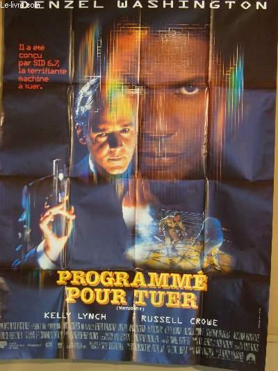 AFFICHE DE CINEMA - PROGRAMME POUR TUER