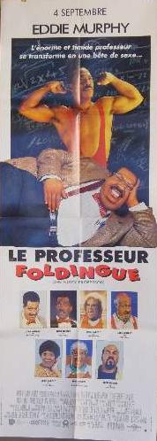 AFFICHE DE CINEMA - PROFESSEUR FOLDINGUE