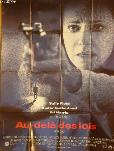 AFFICHE DE CINEMA - AU-DELA DES LOIS - EYE FOR AN EYE