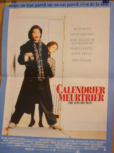 AFFICHE DE CINEMA - CALENDRIER MEURTRIER