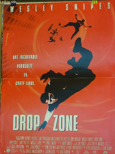 AFFICHE DE CINEMA - DROP ZONE