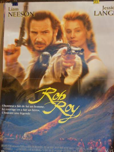 AFFICHE DE CINEMA - ROB ROY