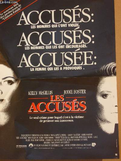 AFFICHE DE CINEMA - LES ACCUSES