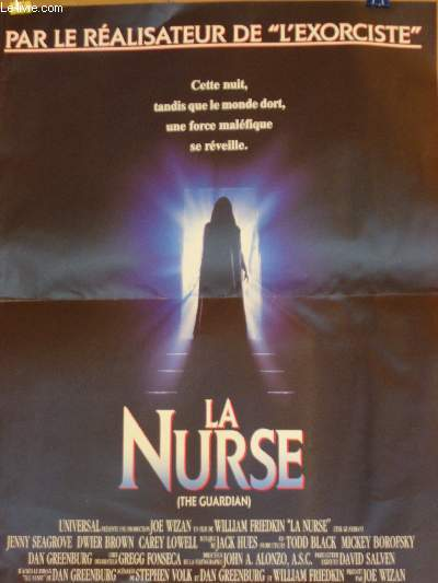 AFFICHE DE CINEMA - LA NURSE - THE GUARDIAN