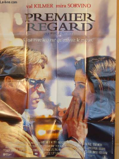 AFFICHE DE CINEMA - PREMIER REGARD - AT FIRST SIGHT