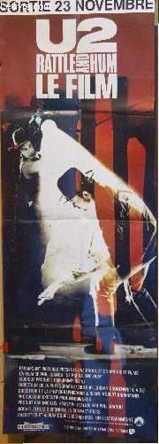 AFFICHE DE CINEMA - U2 - RATTLE AND HUM LE FILM