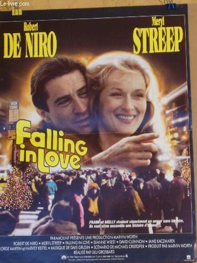AFFICHE DE CINEMA - FALLING IN LOVE