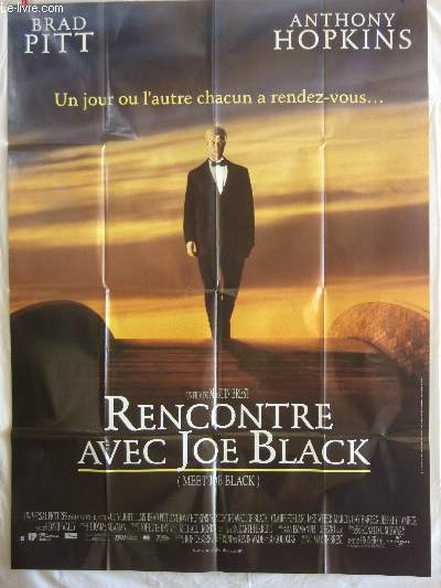 AFFICHE DE CINEMA - RENCONTRE AVEC JOE BLACK