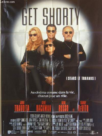 AFFICHE DE CINEMA - GET SHORTY