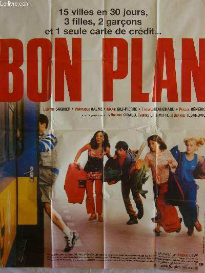 AFFICHE DE CINEMA - BON PLAN