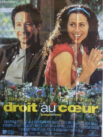 AFFICHE DE CINEMA - DROIT AU COEUR (Return to me)