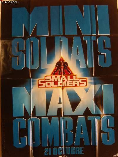 AFFICHE DE CINEMA - MINI SOLDATS MAXI COMBATS