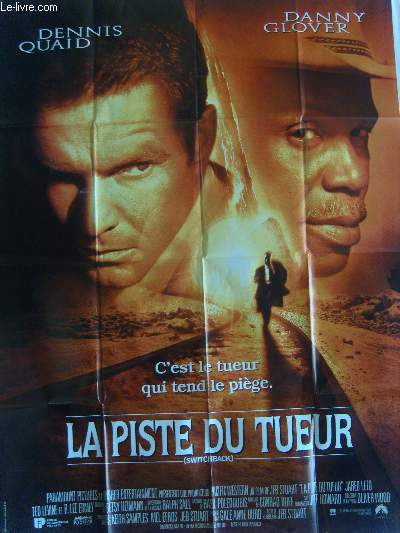 AFFICHE DE CINEMA - LA PISTE DU TUEUR