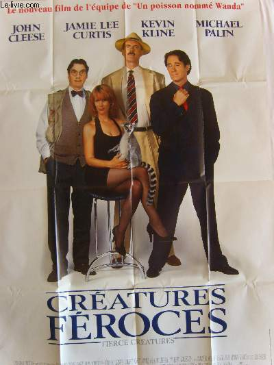 AFFICHE DE CINEMA - CREATURES FEROCES