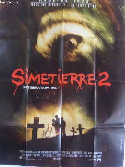 AFFICHE DE CINEMA - SIMETIERRE 2