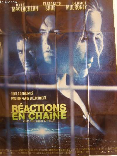 AFFICHE DE CINEMA - REACTIONS EN CHAINE