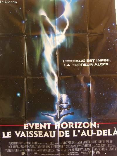 AFFICHE DE CINEMA - EVENT HORIZON : LE VAISSEAU DE L'AU-DELA