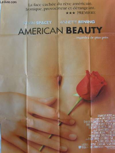 AFFICHE DE CINEMA - AMERICAN BEAUTY