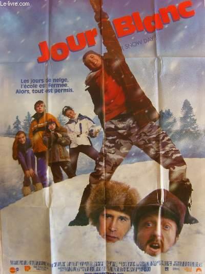 AFFICHE DE CINEMA - JOUR BLANC