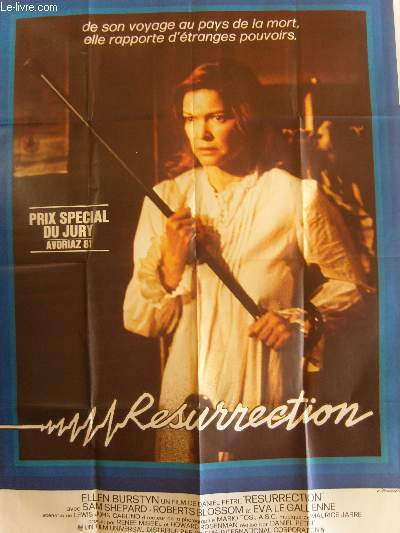 AFFICHE DE CINEMA - RESURRECTION