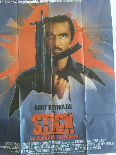 AFFICHE DE CINEMA - STICK