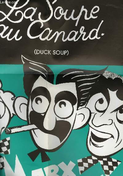 AFFICHE DE CINEMA - LA SOUPE AU CANARD