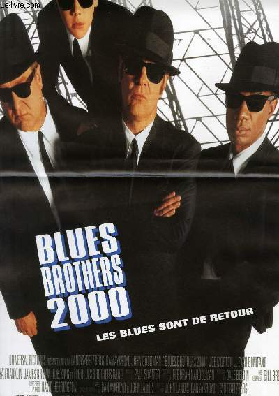 AFFICHE DE CINEMA - BLUES BROTHERS 2000