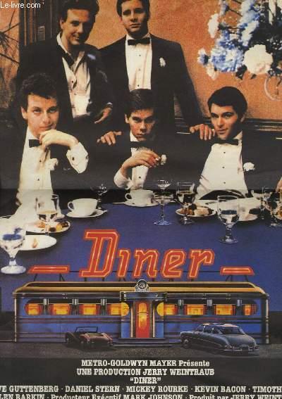 AFFICHE DE CINEMA - DINER