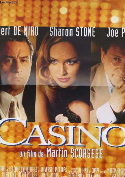 AFFICHE DE CINEMA - CASINO
