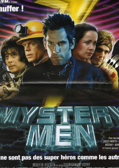 AFFICHE DE CINEMA - MYSTERY MEN