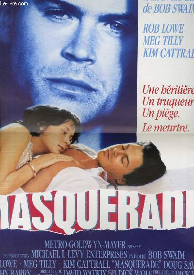 AFFICHE DE CINEMA - MASQUARADE